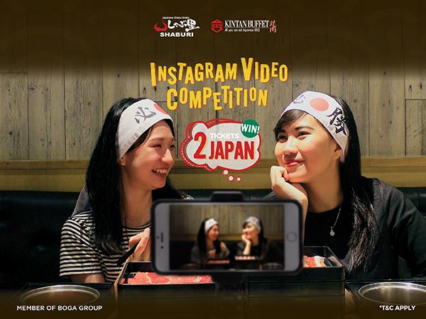 Shaburi & Kintan Buffet Instagram Video Competition